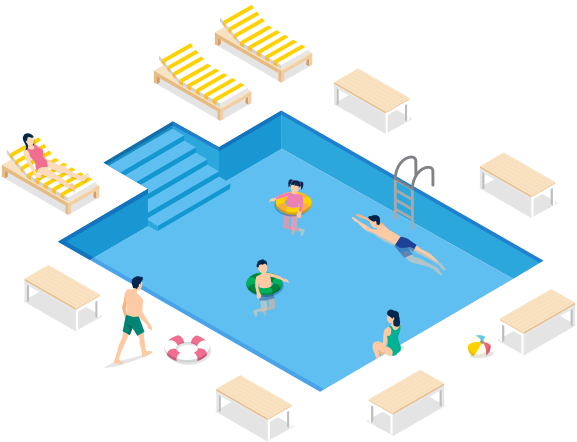 piscina – recanto xavante home